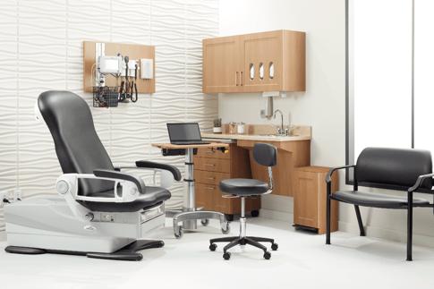 Midmark Exam Room. Healthcare facility design