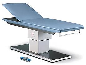 hausmann 4756 powermatic treatment table with backrest