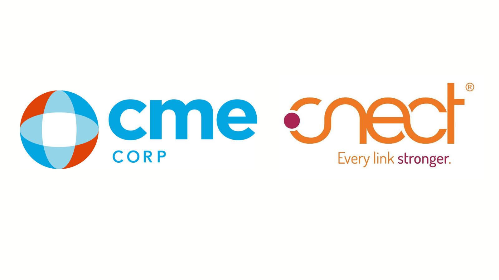 CME Corp logo and CNECT gpo logo