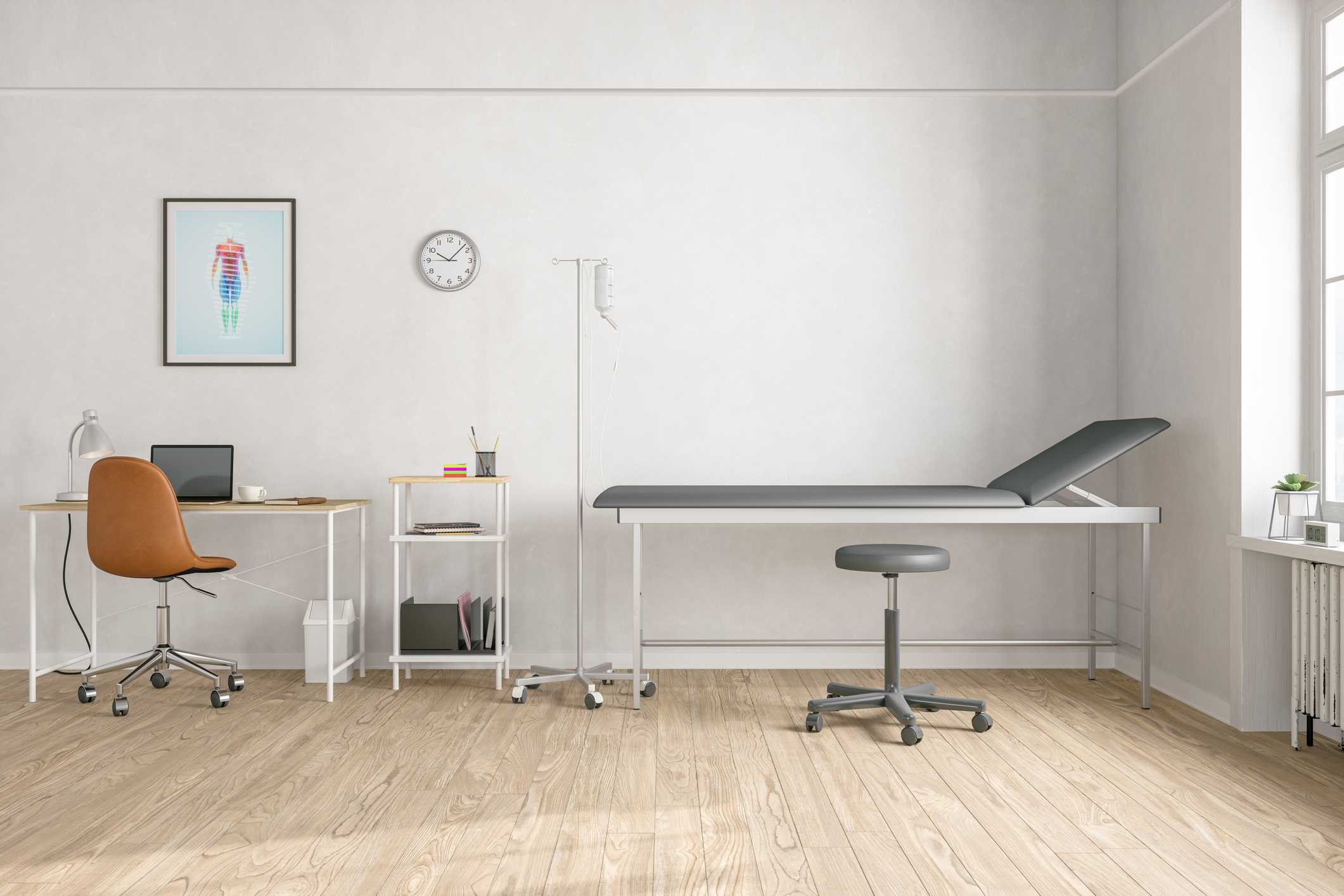 checklist of medical equipment for exam rooms