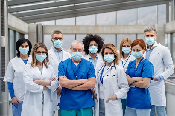 healthcare workers on the frontlines